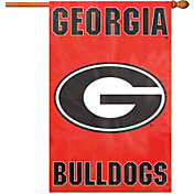 Party Animal Georgia Bulldogs Applique Banner Flag