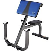 Pure Fitness Preacher Curl Weight Bench