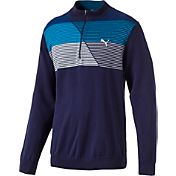 PUMA Men's Quarter-Zip Golf Sweater