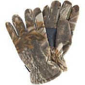 QuietWear Men's Waterproof Fleece Gloves