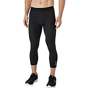 Reebok Men's Three Quarter Length Compression Tights