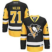 Reebok Men's Pittsburgh Penguins Evgeni Malkin #71 Premier Replica Third Jersey