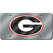 Rico Georgia Silver Laser Tag License Plate