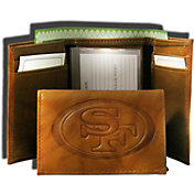 Rico NFL San Francisco 49ers Embossed Tri-Fold Wallet
