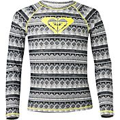 Roxy Girls' Gypsy Geo Long Sleeve Rash Guard