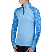 Saucony Women's Omni Half Zip Long Sleeve Shirt