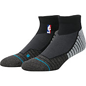 Stance NBA Coaches Low Crew Black Socks