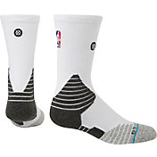 Stance NBA On Court White Crew Socks