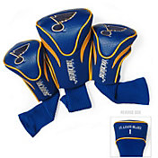 Team Golf St. Louis Blues 3-Pack Contour Headcovers