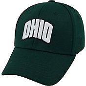 Top of the World Men's Ohio Bobcats Green Premium Collection M-Fit Hat