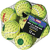 Tourna Youth Green Dot Low Compression Tennis Balls - 12 Pack