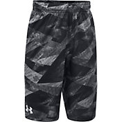Under Armour Boys' SC30 Essentials Printed Basketball Shorts