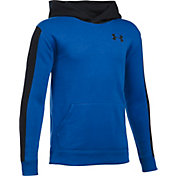 Under Armour Boys' ColdGear Armour Up Printed Mock Hoodie