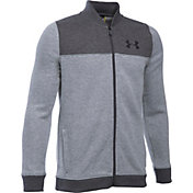 Under Armour Boys' Sportstyle Fleece Bomber Jacket