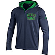 Under Armour Men's Notre Dame Fighting Irish Navy Long Sleeve Hooded Shirt
