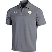 Under Armour Men's Notre Dame Fighting Irish Navy Showdown Polo