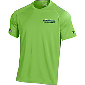 Under Armour NFL Combine Authentic Men's Seattle Seahawks Wordmark Tech Green Performance T-Shirt