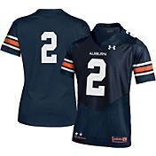 Under Armour Women's Auburn Tigers Navy #2 Replica Football Jersey