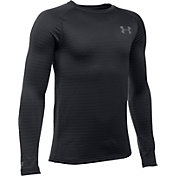 Under Armour Youth Base 2.0 Crew Long Sleeve Shirt