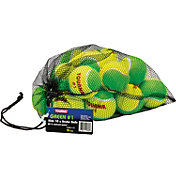 Tourna Low Compression Stage 1 Tennis Ball - 18 Pack Mesh Bag