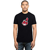 '47 Men's Cleveland Indians Navy Club T-Shirt