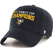 '47 Men's 2017 NHL Stanley Cup Champions Pittsburgh Penguins Clean Up Adjustable Hat