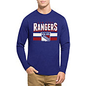 '47 Men's New York Rangers Club Royal Long Sleeve T-Shirt