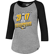 '47 Women's 2017 NHL Stanley Cup Champions Pittsburgh Penguins Club Raglan T-Shirt