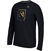 adidas Men's Los Angeles FC Uncovered Ultimate Black Long Sleeve T-Shirt
