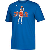 "adidas Men's Oklahoma City Thunder Russell Westbrook ""Mr. Triple Double"" Blue T-Shirt"