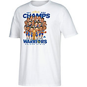 adidas Men's 2017 NBA Champions Golden State Warriors Caricature White T-Shirt