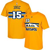 adidas Youth Denver Nuggets Nikola Jokic #15 Gold T-Shirt