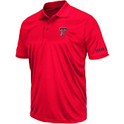Colosseum Athletics Men's Texas Tech Red Raiders Red Performance Polo