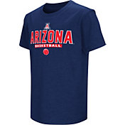Colosseum Athletics Youth Arizona Wildcats Navy Dual-Blend Basketball T-Shirt