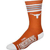 Texas Longhorns 4-Stripe Deuce Crew Socks