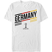 Fifth Sun Men's FIFA 2017 Confederations Cup Germany Stripes White Crew T-Shirt