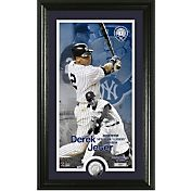 Highland Mint New York Yankees Derek Jeter Jersey Retirement Supreme Silver Coin Photo Mint