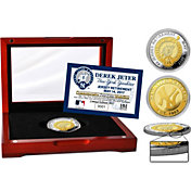 Highland Mint New York Yankees Derek Jeter Jersey Retirement Two-Tone Coin