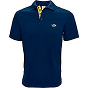 Levelwear Men's Nashville Predators Navy Helium Polo