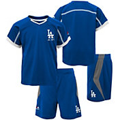 Majestic Boys' Los Angeles Dodgers Cool Base Legacy Shorts & Top Set