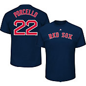 Majestic Men's Boston Red Sox Rick Porcello #22 Navy T-Shirt