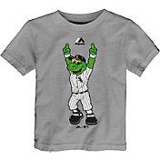 Majestic Toddler Chicago White Sox Mascot Grey T-Shirt