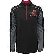 Majestic Youth Arizona Diamondbacks Club Series Black Quarter-Zip Fleece