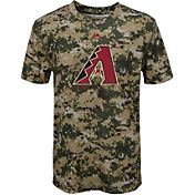 Majestic Youth Arizona Diamondbacks Cool Base Digi Camo Performance T-Shirt