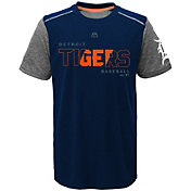 Majestic Youth Detroit Tigers Cool Base Club Series Navy Performance T-Shirt