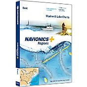 Navionics+ East Charts SD Card