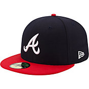 New Era Men's Atlanta Braves 59Fifty Home Navy Authentic Hat