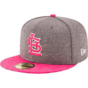 New Era Men's St. Louis Cardinals 59Fifty 2017 Mother's Day Authentic Hat