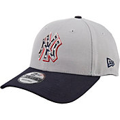 New Era Men's New York Yankees Americana 9Forty Grey Adjustable Hat