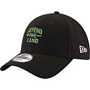 New Era Men's Cleveland Cavaliers 9Forty Defend The Land Adjustable Hat